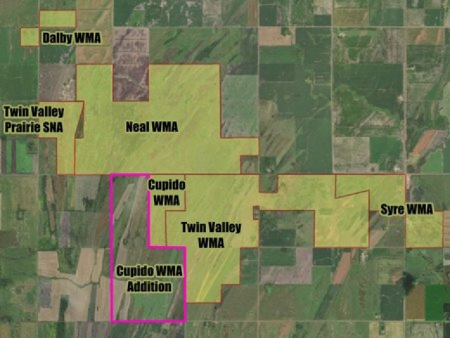 Pheasants Forever and Minnesota Prairie Chicken Society Lead 955-Acre WMA Addition with Outdoor Heritage Funding