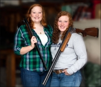 The Harmonic Convergence of the Red-Headed Sisters Who Shoot the CZ Redhead Shotguns
