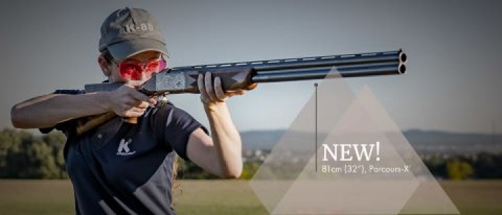Shooting the Krieghoff K-80 Parcours With Its Two New High-Performance Barrels