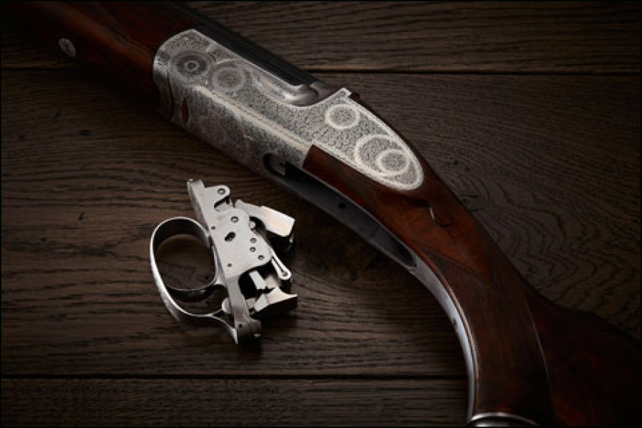 The Purdey Trigger Plate Over/Under Adds Tournament Grade to