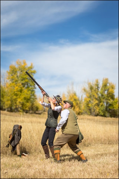 French Creek Sportsmen's Club Hosts a Purdey Pheasant Extravaganza in Wyoming