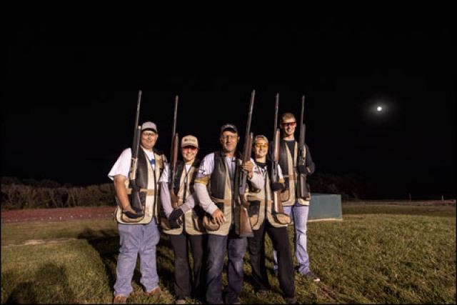 CZ-USA's Dave Miller Helps Four High-School Kids Establish a Shotgunning Guinness World Record