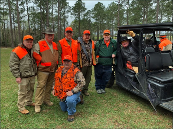 Into the Bobwhite Quail Fields with Ducks Unlimited Veterans at Southern Woods Plantation