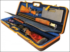 Orvis Green Comes to Negrini Hard Shotgun Cases